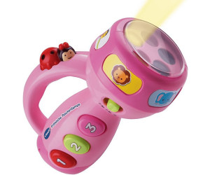 Vtech 80 124054 Fröhliche Taschenlampe, pink: