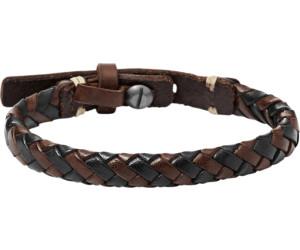 Armbanduhren Fossil Herren Braun Lederband