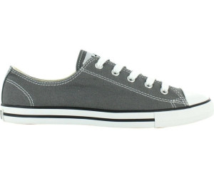 65970ec1c148 Buy Converse Chuck Taylor Dainty Ox - charcoal (532353C) from £44.99 ...