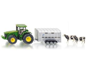 dunkelgrün Modellfahrzeug SIKU FARMER Viehanhänger