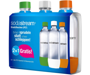 sodastream pet flasche 2 1 3 x 1 liter ab 11 99 preisvergleich bei. Black Bedroom Furniture Sets. Home Design Ideas