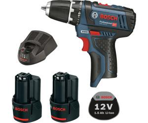 Bosch GSR 12V 15 2 LI Professional 2 x 1,5 Ah (0 601 868 107