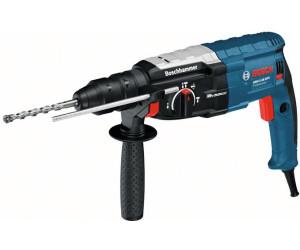 Bosch Professional Bohrhammer GBH 2-28 880 Watt, mit SDS-plus Aufnahme, bis 28 mm Bohr-/Ø, R/ückschlag-Schutz, L-Boxx Systemkoffer, ohne Schnellspann-Bohrfutter