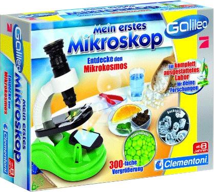 Clementoni Galileo - Mein erstes Mikroskop