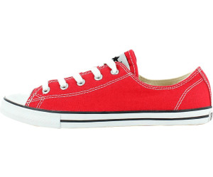 4112015894b5 Buy Converse Chuck Taylor Dainty Ox - red (530056C) from £37.65 ...