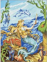 Royal & Langnickel Malen nach Zahlen Meerjungfrau