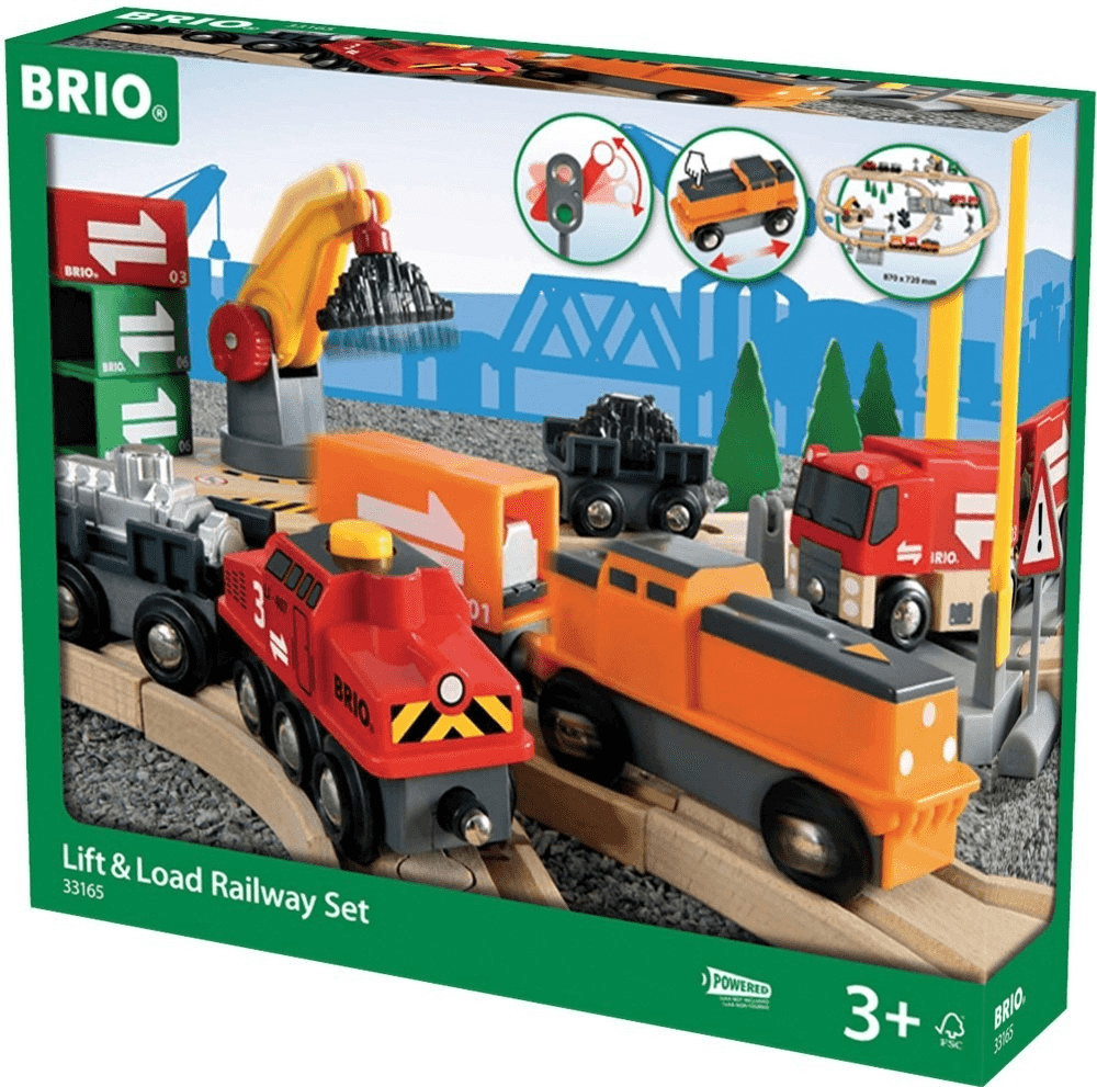 Brio Lift and Load Railway Set (33165)