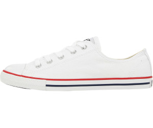 4c813ef55012 Buy Converse Chuck Taylor Dainty Ox - white (537204C) from £38.99 ...