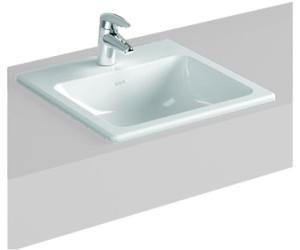 vitra s20 einbauwaschtisch 55 x 45 cm 5465b003 ab 110 12. Black Bedroom Furniture Sets. Home Design Ideas