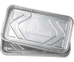 Landmann Aluminium-Grillpfannen 5 Stück Alu-Grillpfanne Grillzubehör Zubehör