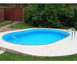 Einbau pool komplettset sj51 hitoiro for Gartenpool oval