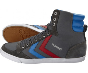 SLIMMER STADIL - Sneaker high - castle rock/ribbon red/brilliant blue 0eprlU6
