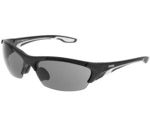 Lunettes de sport unisexe Uvex Blaze lll, black / black mat, taille unique