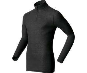 ODLO Warm Shirt LS Neck Black 152002 15000// Outdoorkleidung für Männer