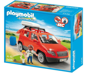 playmobil voiture avec coffre de toit 5436 au meilleur prix sur. Black Bedroom Furniture Sets. Home Design Ideas
