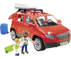 playmobil voiture avec coffre de toit 5436 au meilleur. Black Bedroom Furniture Sets. Home Design Ideas