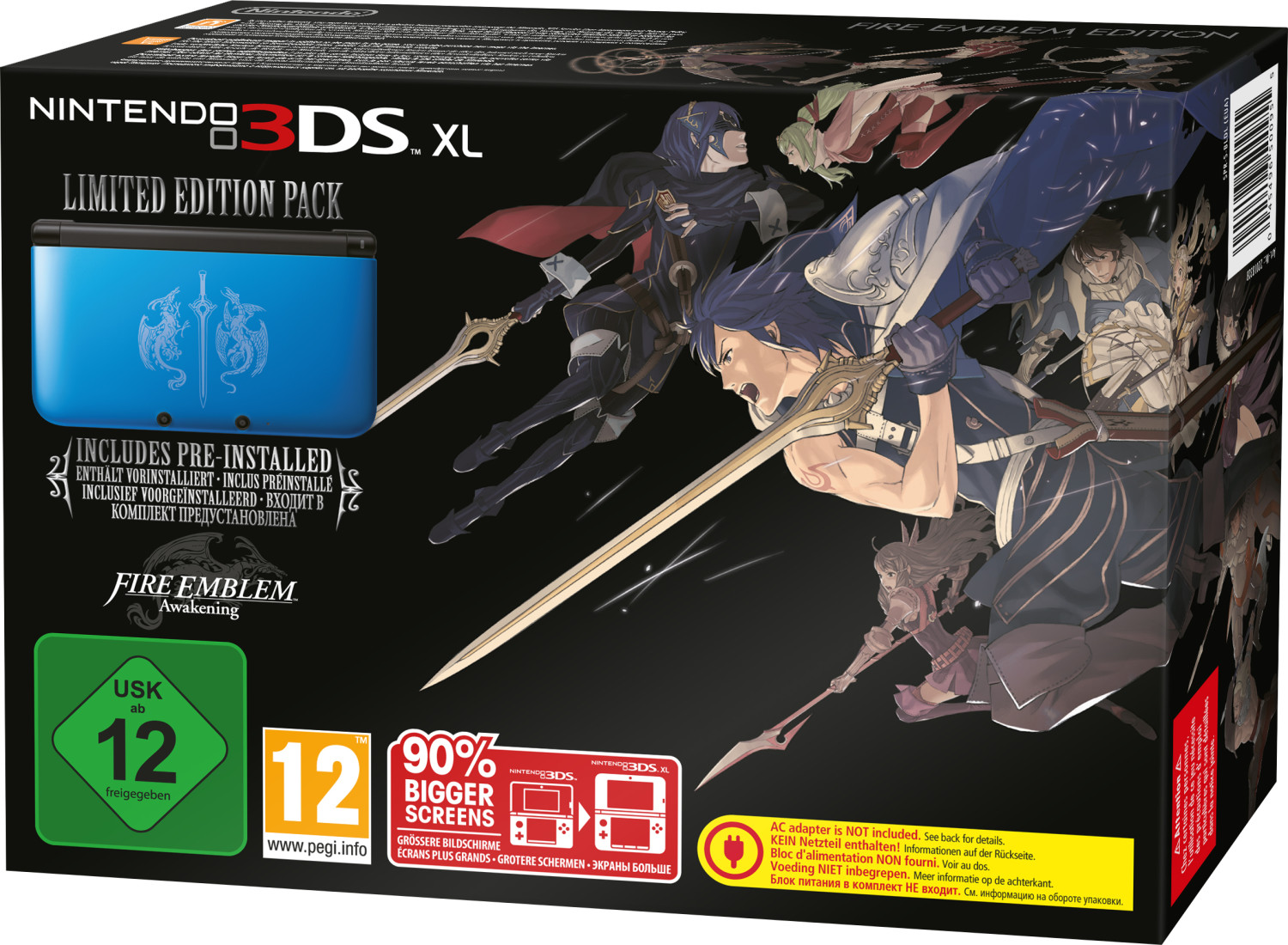 Nintendo 3DS XL Fire Emblem: Awakening Limited ...
