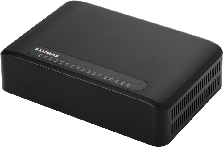 Image of Edimax 16-Port Fast Ethernet Switch (ES-3316P)