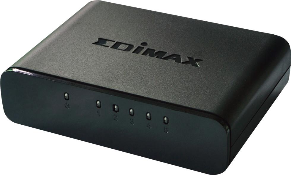 Image of Edimax 5-Port Fast Ethernet Desktop Switch (ES-3305P)