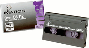 Image of Imation 8mm Mammoth 112m 5/10GB