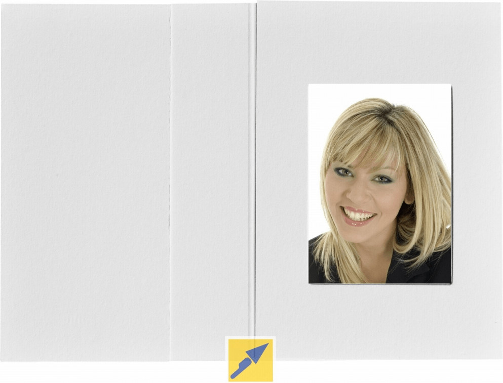 Image of Daiber 1x100 Passport Photograph Holder 3,6x5