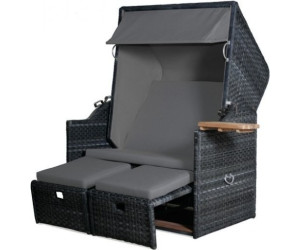 strandkorb polyrattan grau rugbyclubeemland. Black Bedroom Furniture Sets. Home Design Ideas