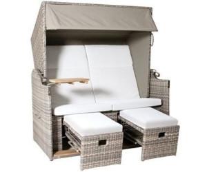 csun zanzibar xl strandkorb polyrattan ab. Black Bedroom Furniture Sets. Home Design Ideas