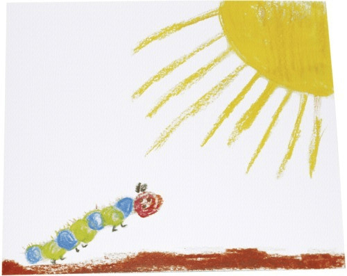 Image of Daiber 1x25 Portrait Presentation Folder 13x18 caterpillar/butterfly