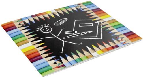 Image of Daiber 1x25 Portrait Presentation Folder 13x18 pencils
