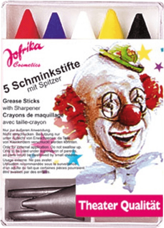 Jofrika Schminkstifte-Set 5 Farben