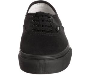 Buy Vans Junior Authentic Black/Black