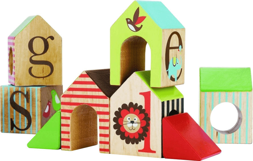 Skip Hop Alphabet House Blocks
