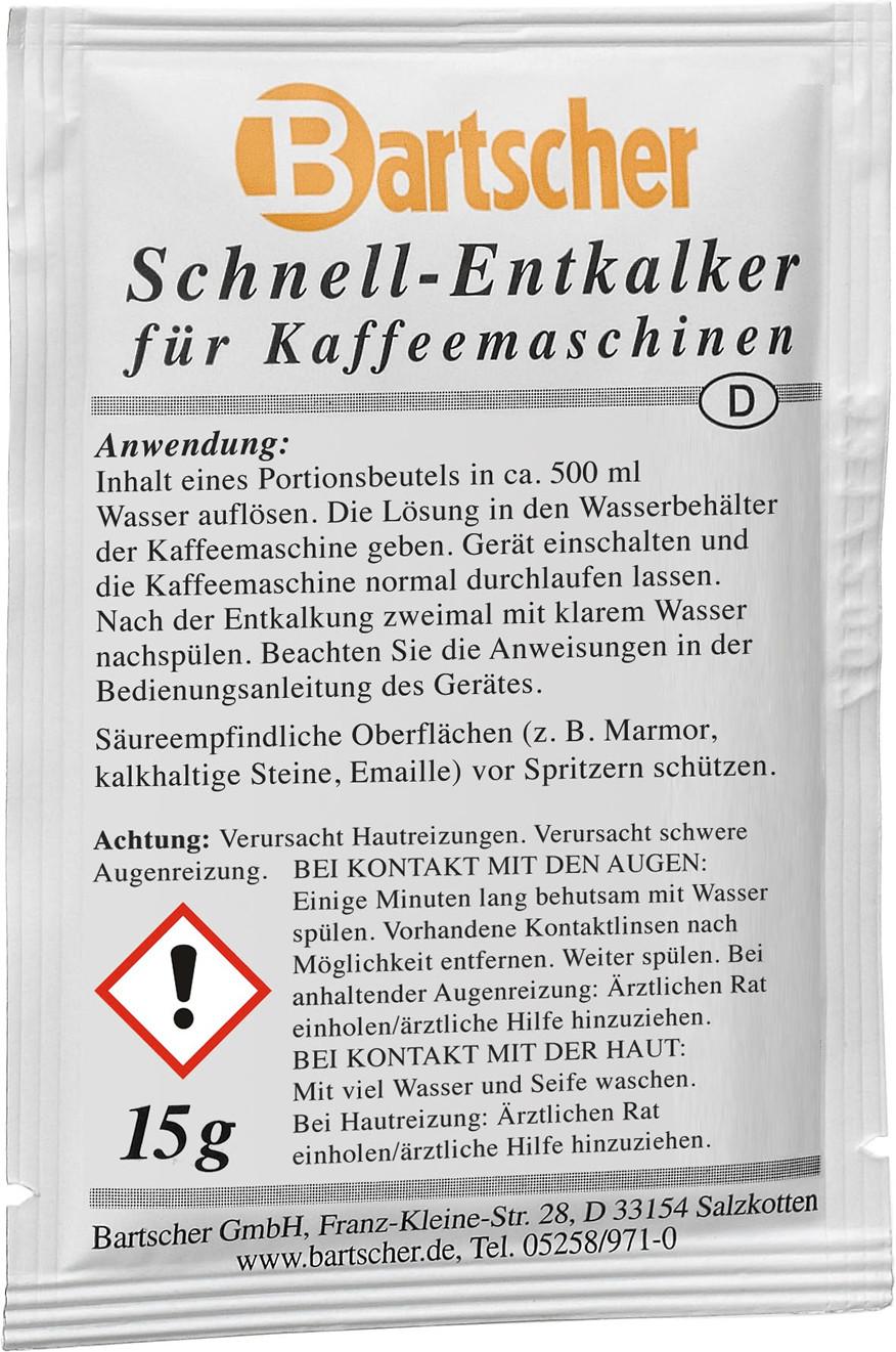 Image of Bartscher Disincrostante per macchine da caffè (30 pezzi)