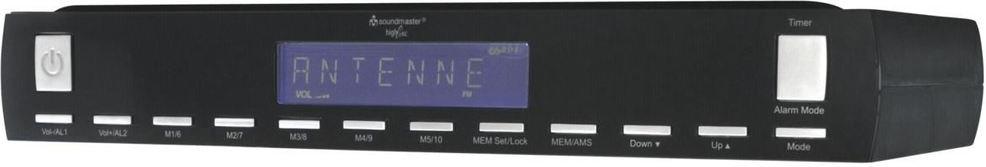 Soundmaster UR 2025 schwarz