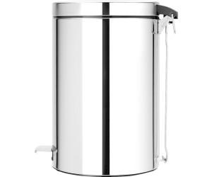 brabantia treteimer 20l brilliant steel ab 57 51 preisvergleich bei. Black Bedroom Furniture Sets. Home Design Ideas