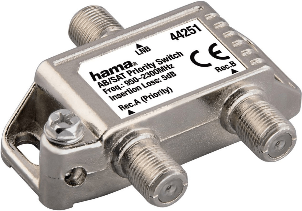 Hama 44251 AB/SAT Priority Switch