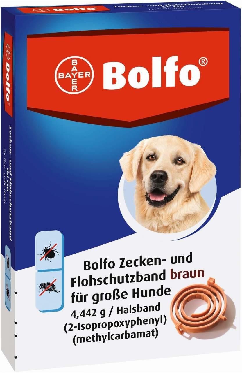 Bayer Bolfo Flohschutzband braun für große Hund...