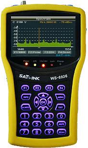 Satlink WS-6932 DVB-S+S2 Real Time Spectrum