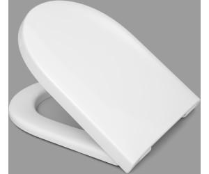 T6202H *kein softclose* HARO WC-Sitz TUBE TakeOff weiss Scharnier Edelstahl
