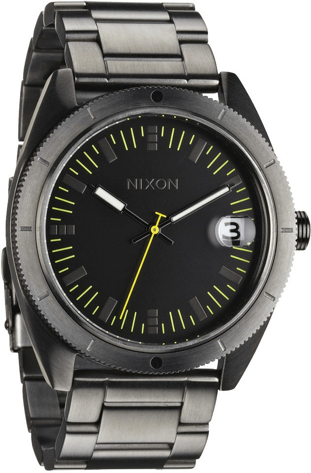 Nixon The Rover SS II All Gunmetal Herrenuhr (A359632)