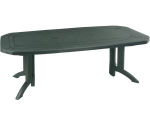 Grosfillex Table Vega (165/220 x 100 cm) au meilleur prix | Juillet ...