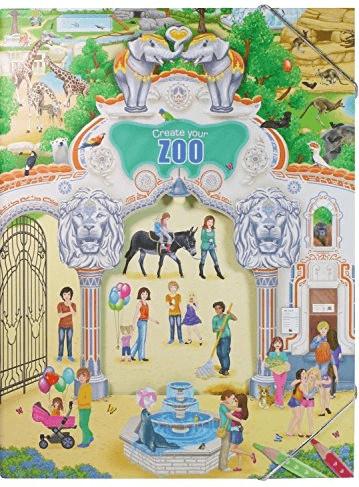 Depesche Malbuch Create your Zoo