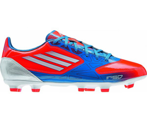 1d0bdf2aa Buy Adidas F10 TRX FG infrared bright blue running white from £30.11 ...