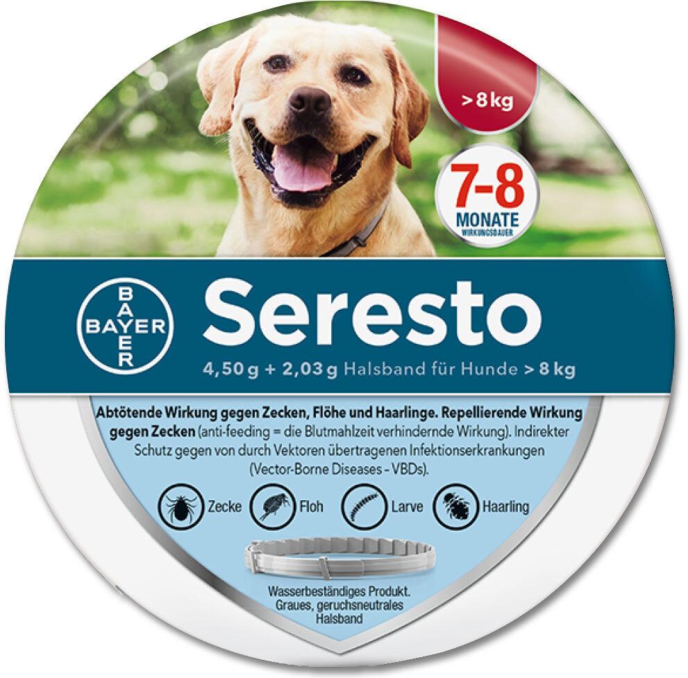 Bayer Seresto Halsband für große Hunde über 8 kg