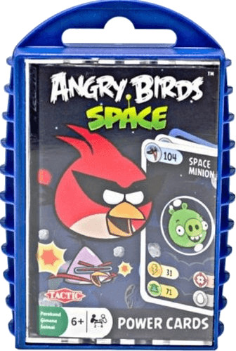 Tactic Angry Birds Space Power Cards