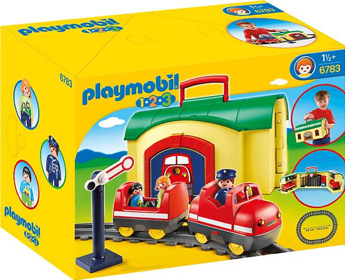 Playmobil 123 - Meine Mitnehm-Eisenbahn (6783)