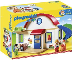 Playmobil 1 2 3 casa moderna 6784 desde 49 99 for Casa playmobil precio