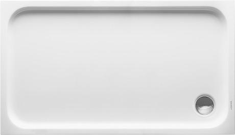 Duravit D-Code Rechteck-Duschwanne 130 x 75 cm ...
