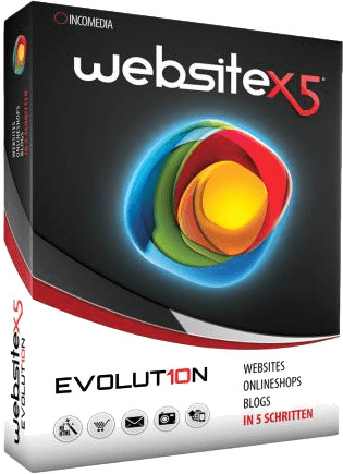 Incomedia Website X5 Evolution 10 (Multi) (Win)