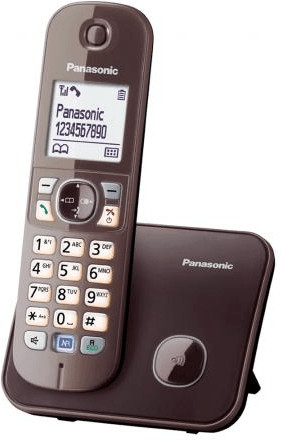 Panasonic KX-TG6811 Solo mocca-braun
